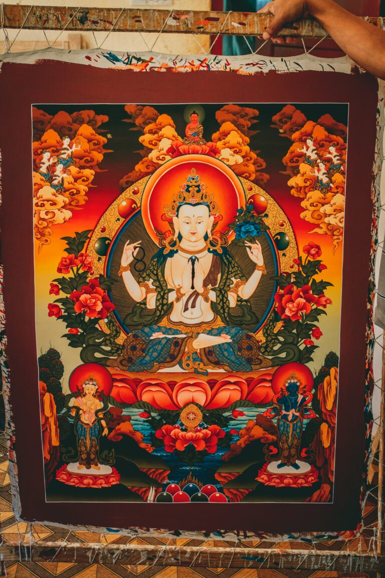 Enlightened Art: Learning to Read a Thangka, Level I